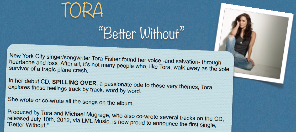 Tora: Key (Cards) to Success for Artists and Songwriters