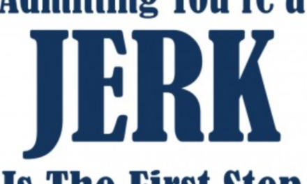 How To Tell If You're a Jerk